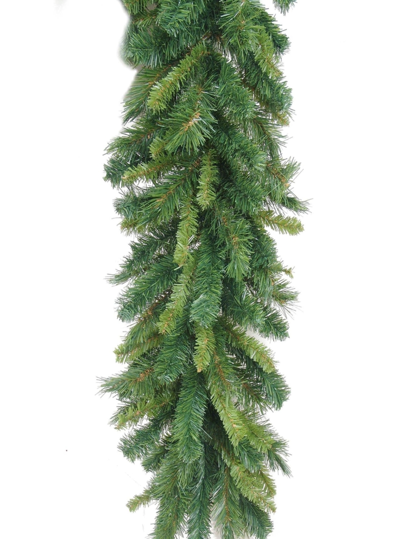 "9'X14"" GLACIER GARLAND (288 TIPS) - GREEN"