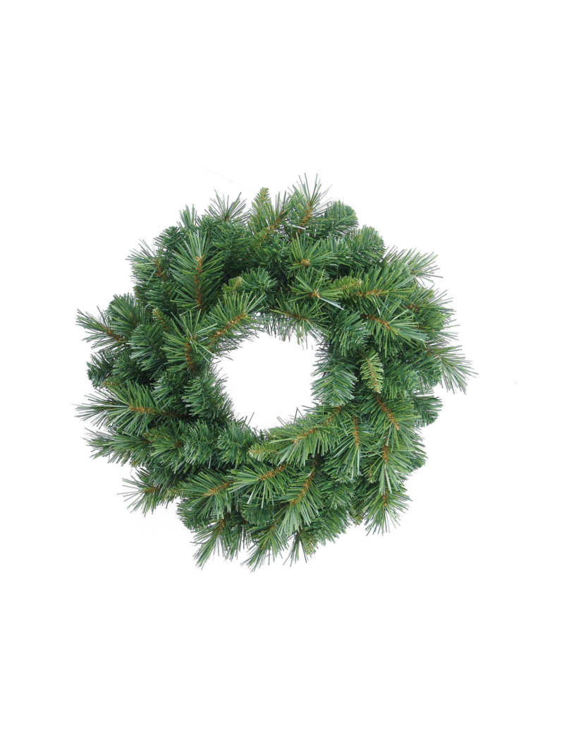 "24"" GLACIER PINE WREATH 150TIPS"