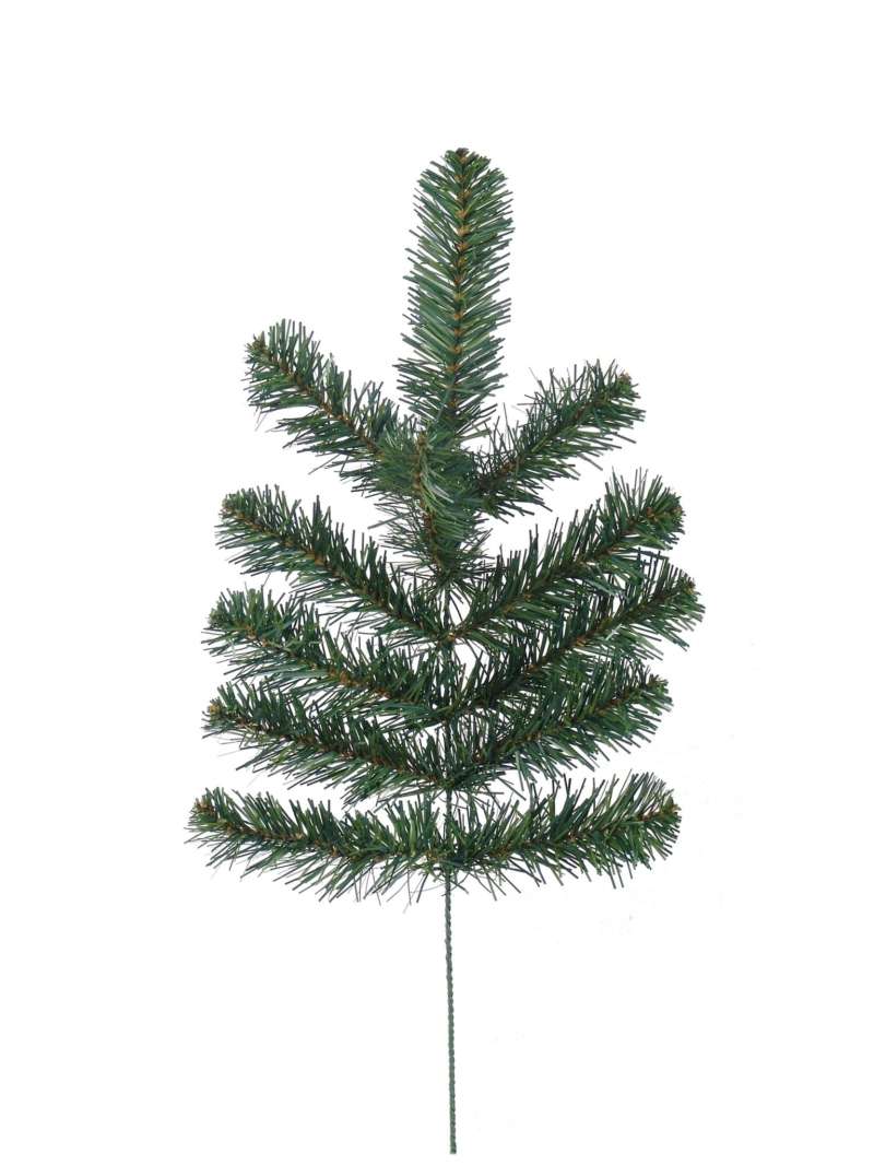 "21"" NORTHERN SPRUCE SPRAY (12 TIPS) - GREEN"