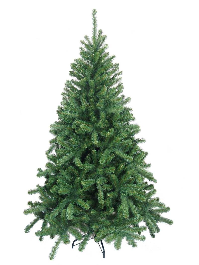 7.5' NORTHERN SPRUCE TREE (1399 TIPS) - GREEN