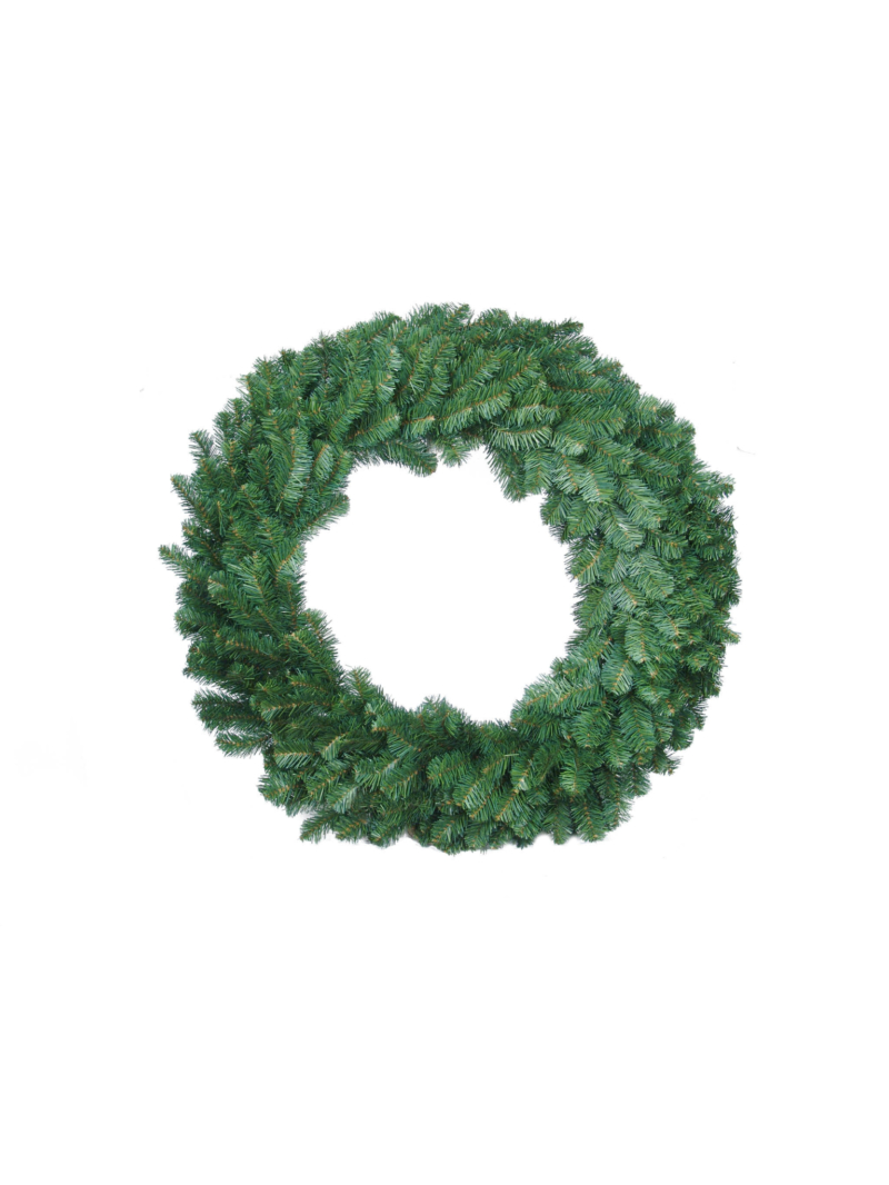 "36"" NORTHERN WREATH 360T (RAISED FRAME) - GREEN"
