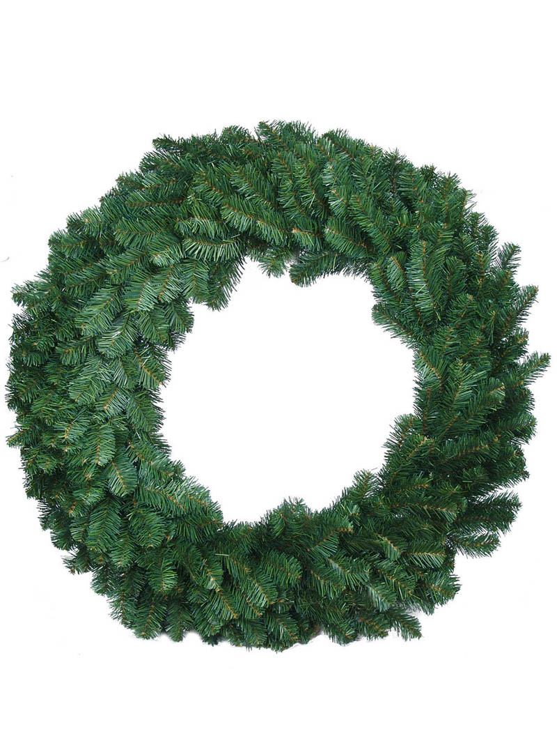 "48"" NORTHERN SPRUCE WREATH 460 TIPS"