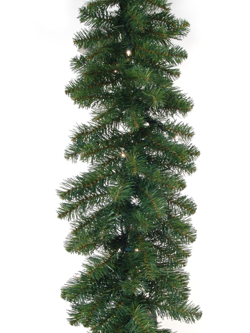 "9'X14""LT NORTHERN GARLAND (50LT/280TIPS) - GREEN"