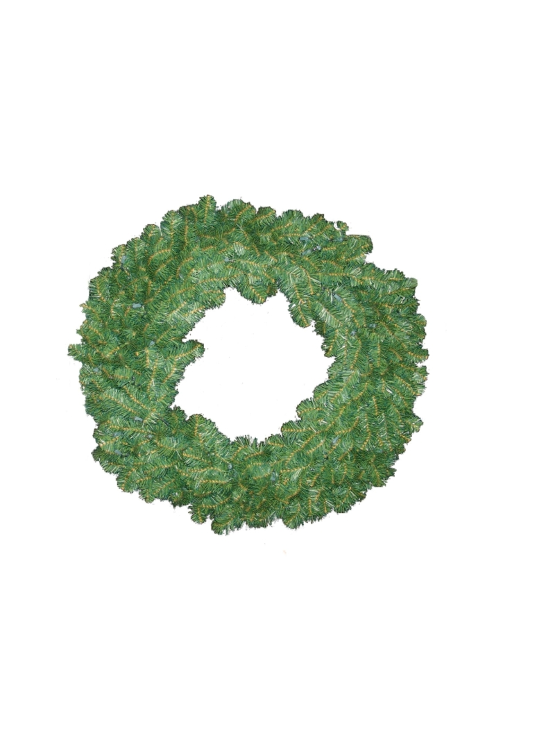"36"" NORTHERN WREATH (100LT/360TIP) - GREEN"