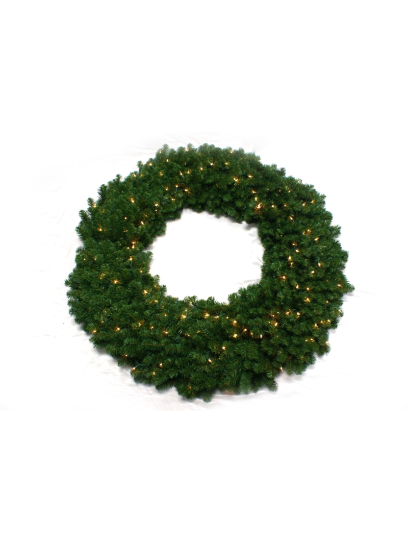 "60"" NORTHERN WREATH (300LT/1200TIP) - GREEN"