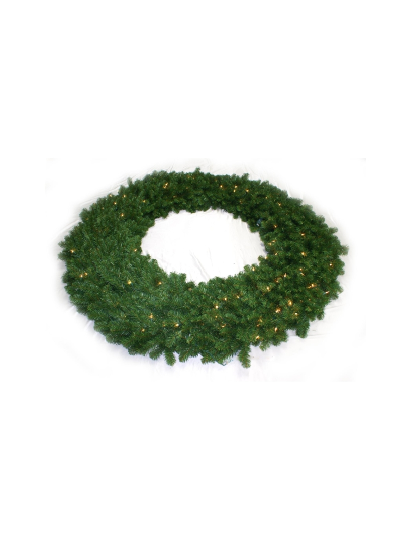 "72"" NORTHERN WREATH (300LT/1600TIP) - GREEN"
