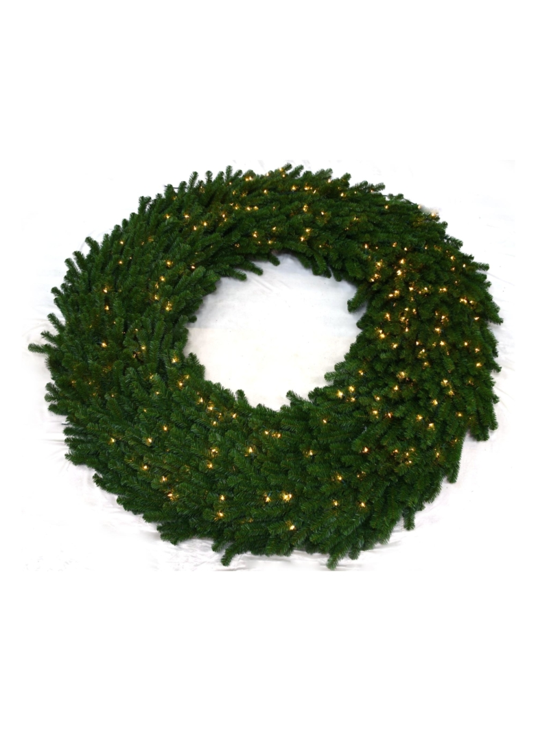 "96"" NORTHERN WREATH A&B (400LT/1800TIP) - GREEN"