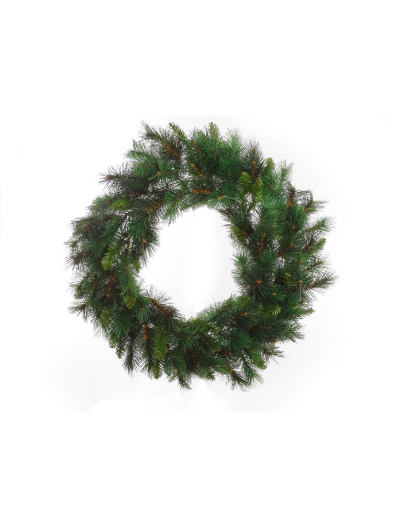 "24"" MAJESTIC PINE WREATH 150 TIPS"