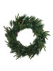"24"" ANGEL PINE WREATH W CONE"