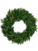 "30"" ANGEL PINE WREATH W CONE"