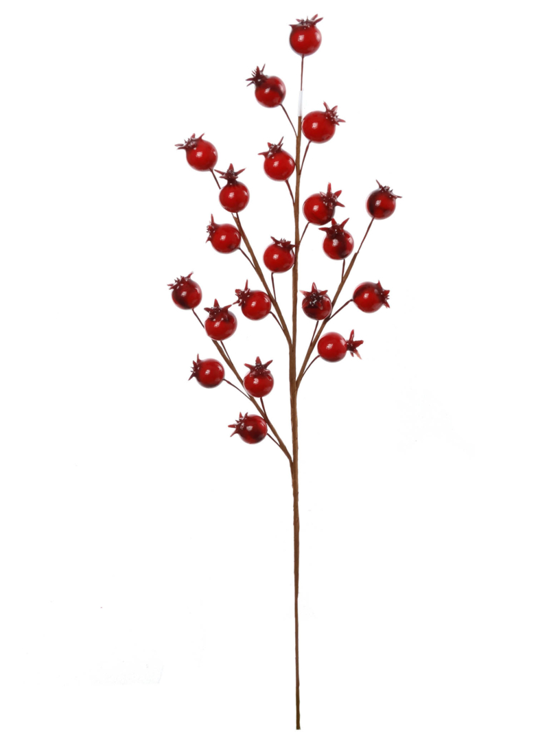 "15.7"" ROSEHIP SPRAY - RED"