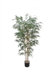 6'BAMBOO TREE W/1296LVS - GREEN