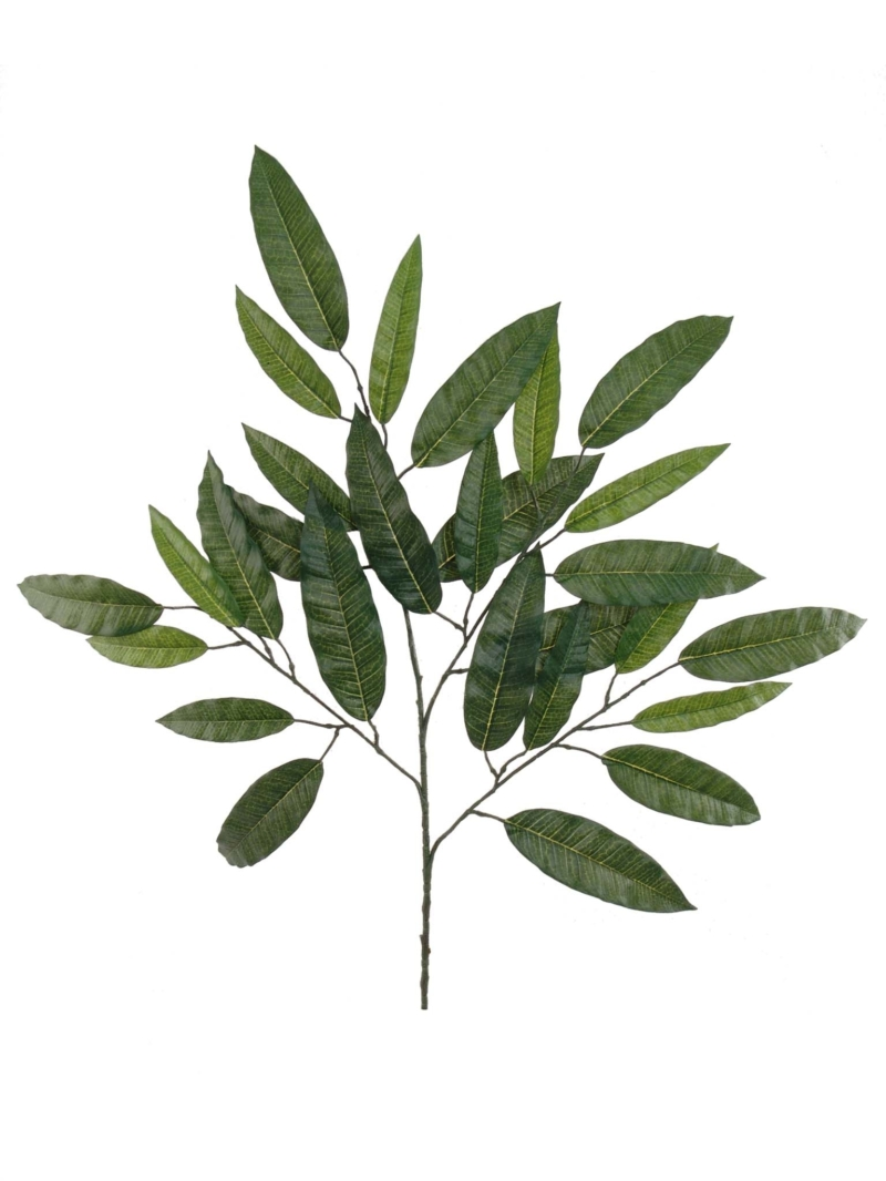 "28"" MANGO LEAF SPRAY X4 - GREEN"