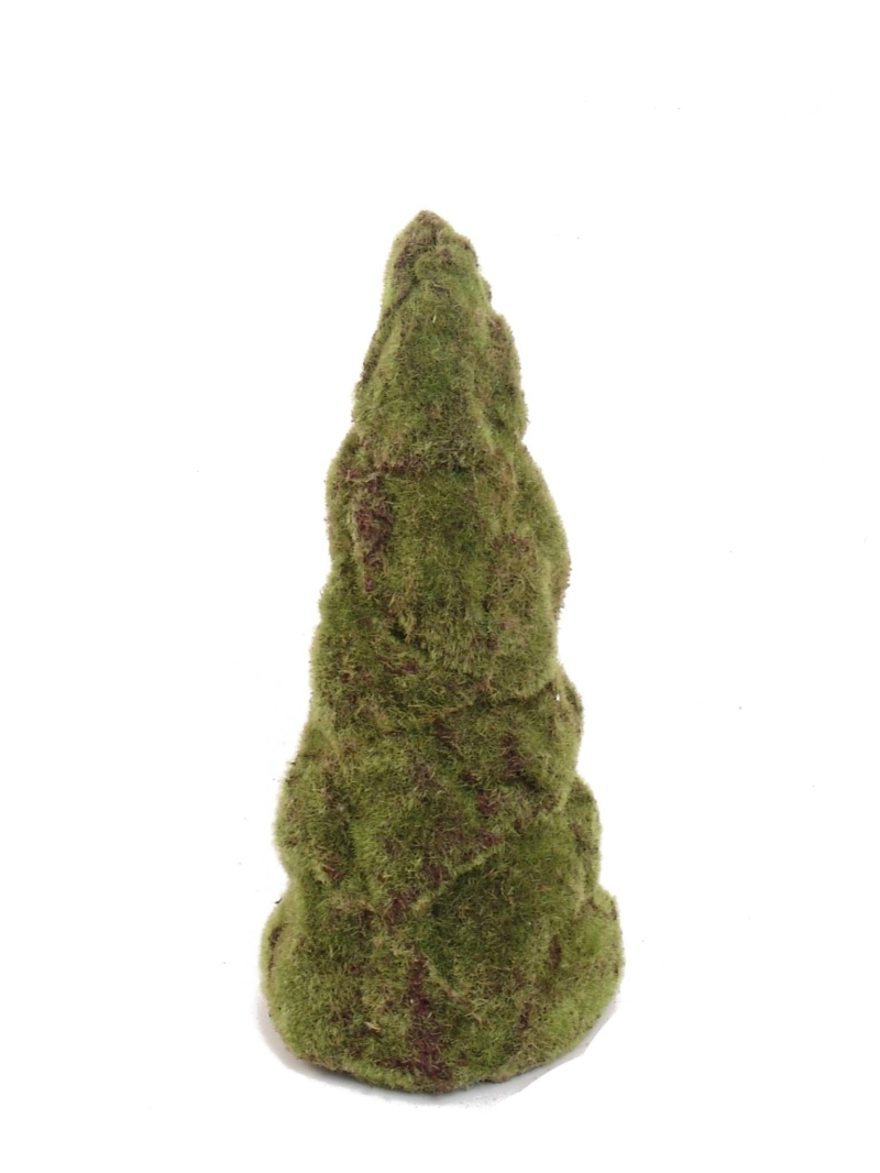 "15.5"" MOSS CONE STAND  - GREEN"