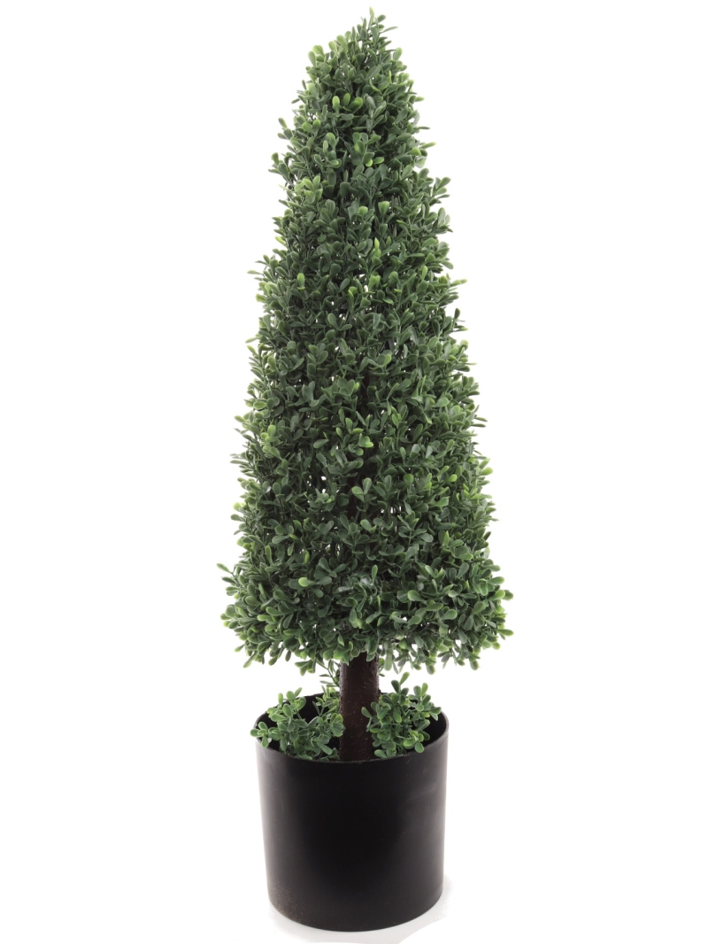Artificial Boxwood Tree Topiary Cone 30""