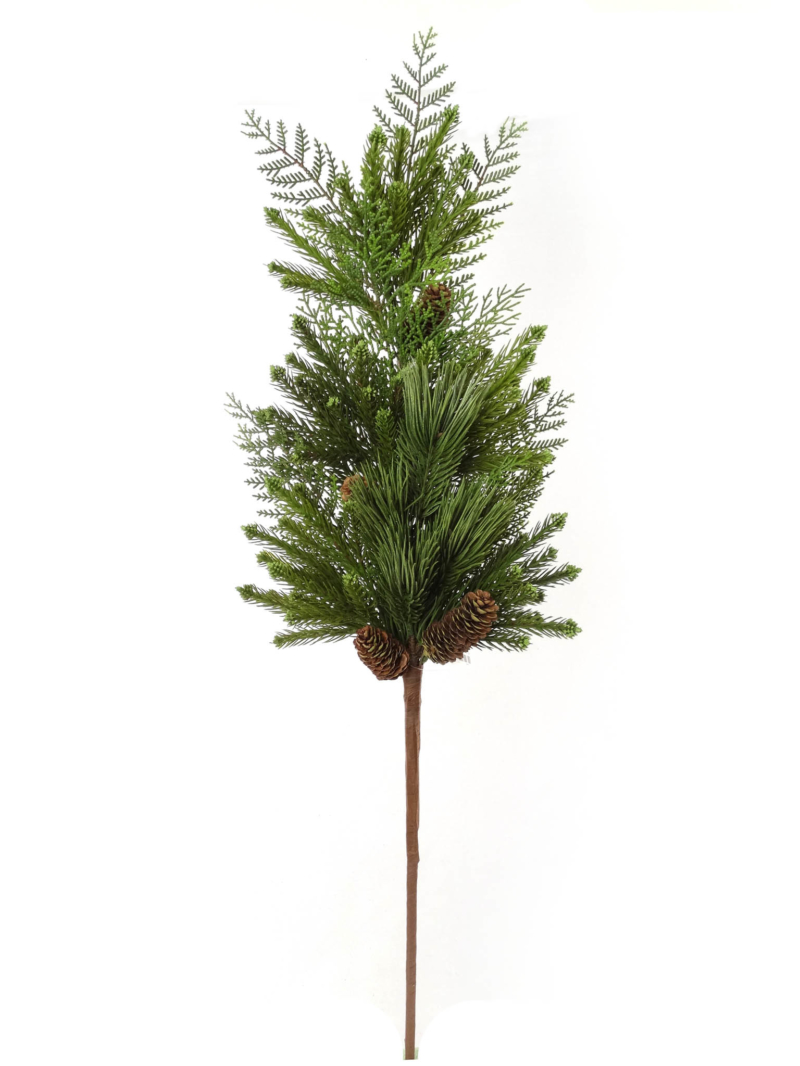 "36"" MIXED PINE SPRAY - GREEN"