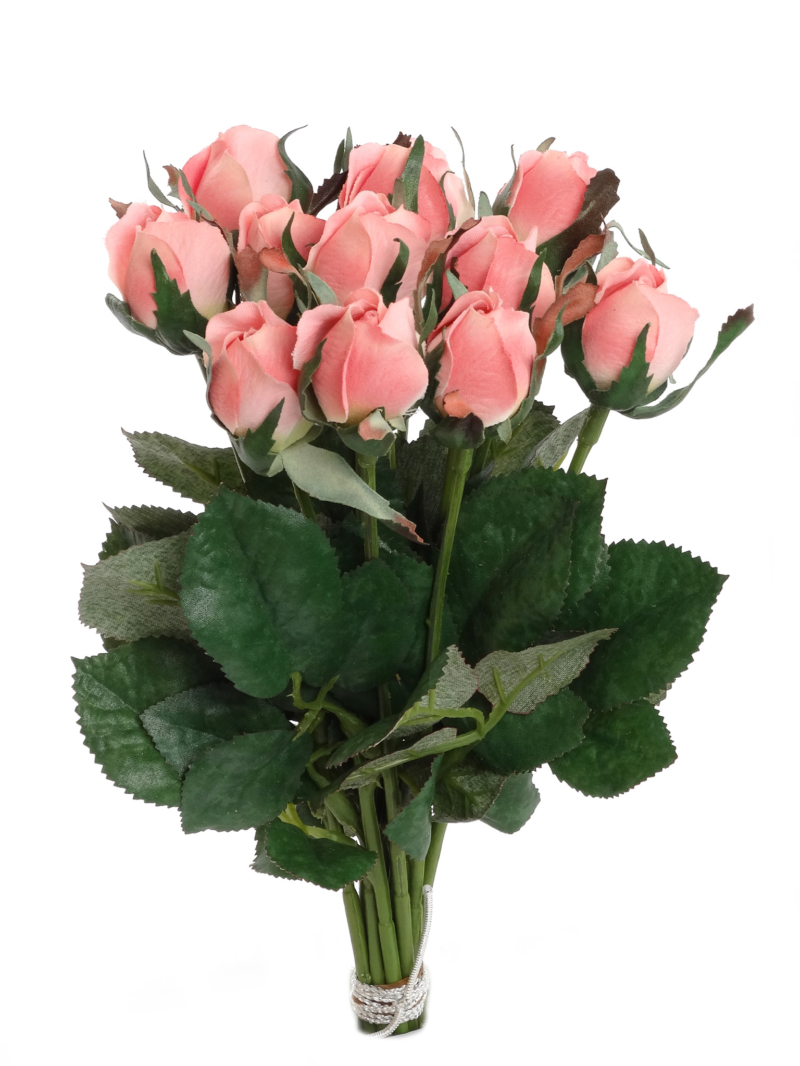 "8.5"" PLANTERS ROSE BUD (1 DZ/BUNCH)"