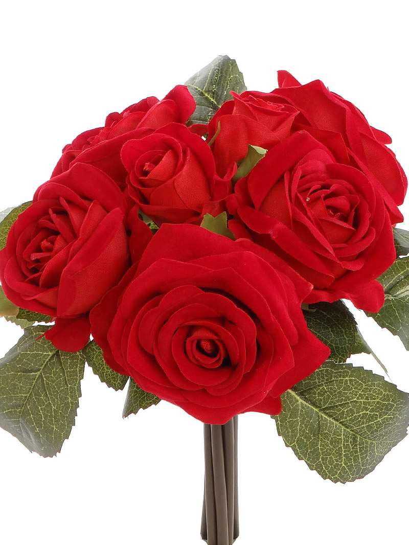 VELVET ROSE BUNDLE X7 - RED