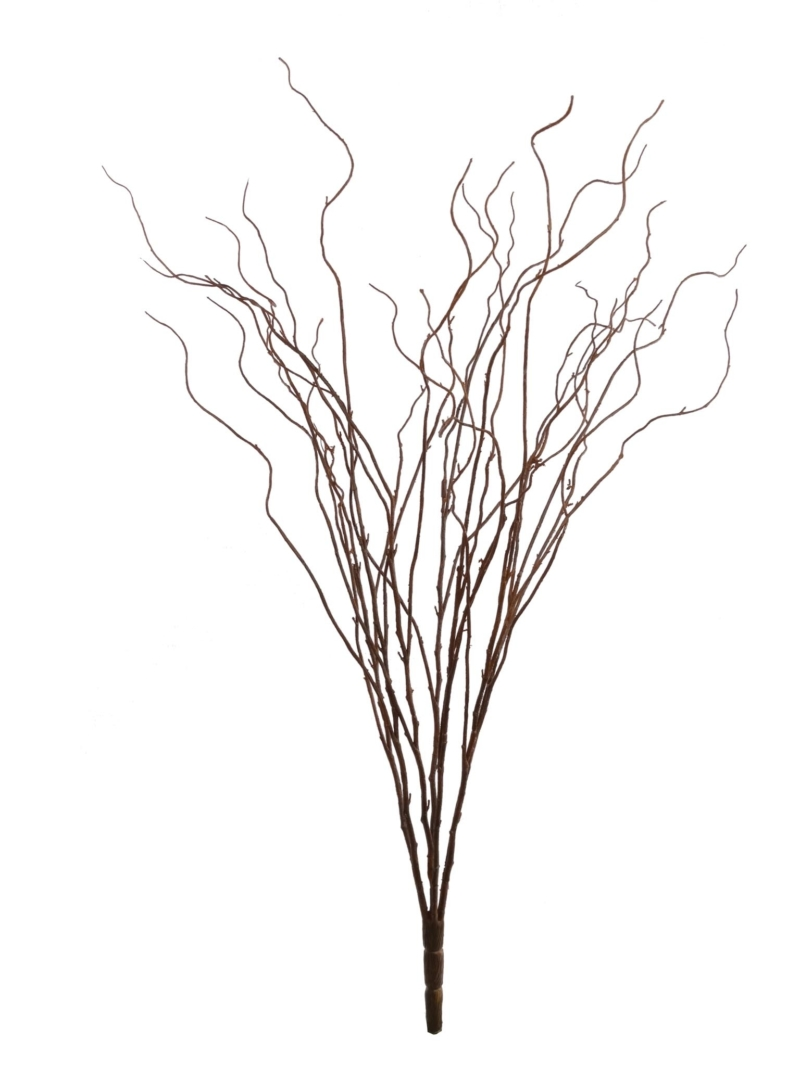 "33"" TWIG BUSH X7 - BROWN"