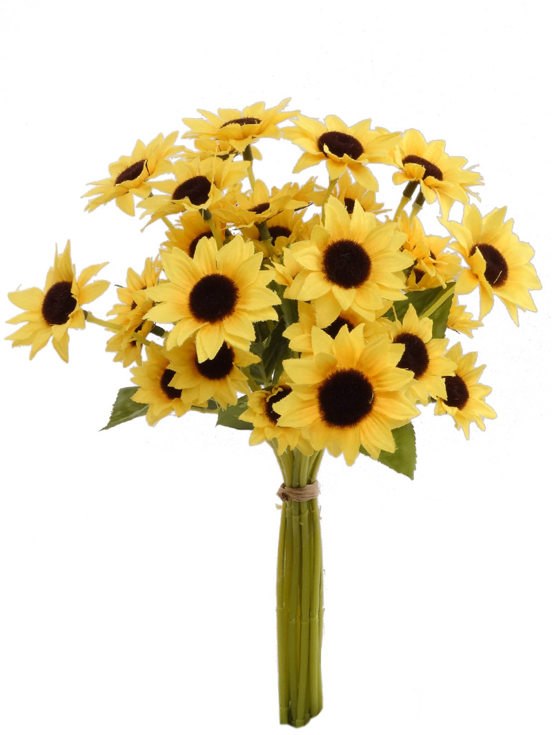 "14""BLACK EYED SUSAN BUNDL - YELLOW"