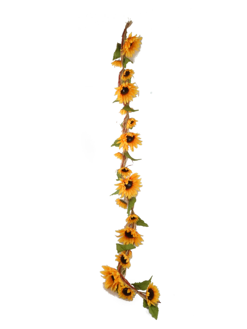 6' SUNFLOWER GARLAND - YELLOW