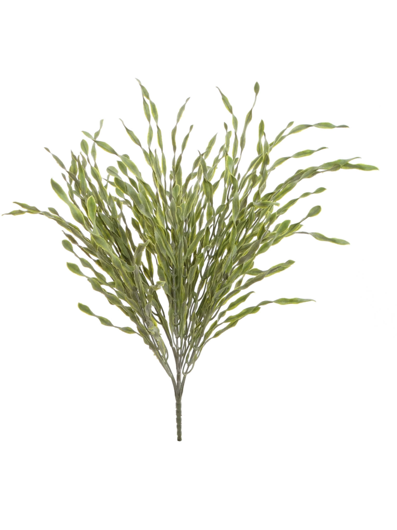 "21"" SPIRAL GRASS BUSH - GREEN"
