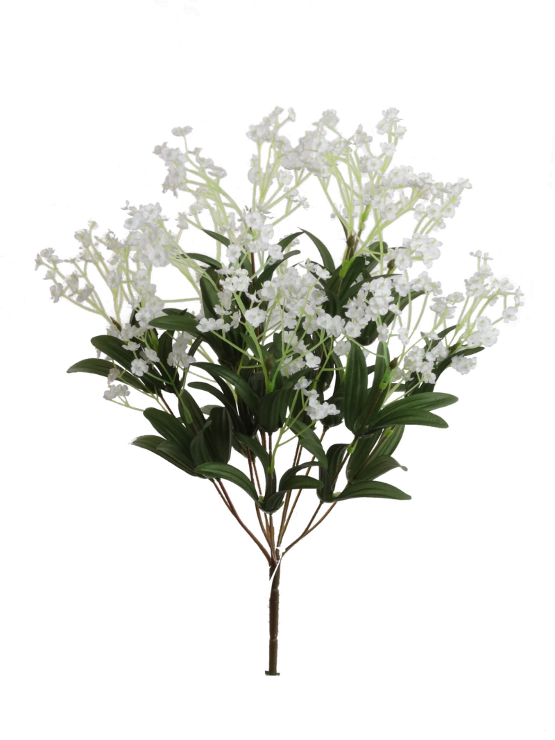 "19"" GYPSOPHILA BUSH X12 (S7120WH) - WHITE"