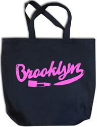 Brooklyn Beauty Fuchsia Tote Bag