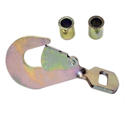 Twisted Snap Hook and Spacers for Ratchets
