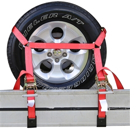 Four Flat Bed/Auto Hauler Tie Down Systems