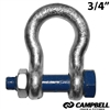 CAMPBELL Safety Anchor Shackle 3/4""