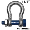 CAMPBELL Safety Anchor Shackle 1 1/4""