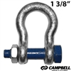 CAMPBELL Safety Anchor Shackle 1 3/8""