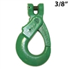 "3/8"" GRADE 100 Clevis Self Locking Hook USA"