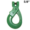 5/8 Inch GRADE 100 Clevis Self Locking Hook USA