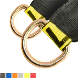 Two Lasso Straps with Protective Sleeves