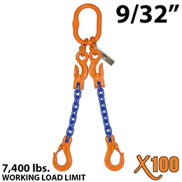 "9/32"" X100 ADOS Grade 100 Chain Sling"