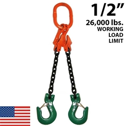 "1/2"" ADOS Grade 100 Chain Sling"