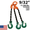 "9/32"" Grade 100 TOSA Chain Sling - USA"