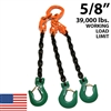 5/8 inch Grade 100 TOSA Chain Sling - USA