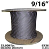 9/16 Inches Coil Domestic Bulk Wire Rope BIWRC 6X37