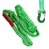 Domestic Green Endless Round Sling and Hook Combo