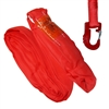 Domestic Red Endless Round Sling and Hook Combo