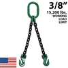 3/8 Inch Grade 100 DOG Chain Sling - USA
