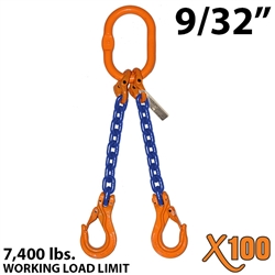 Chain Sling GRADE 100 Style DOS 9/32""