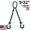 9/32 Inch Grade 100 DOS Chain Sling - USA