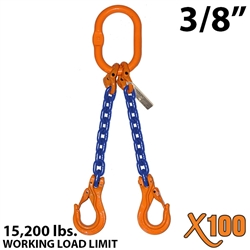 Chain Sling GRADE 100 Style DOS 3/8""