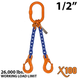 Chain Sling GRADE 100 Style DOS 1/2""