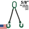 5/8 Inch Grade 100 DOS Chain Sling - USA