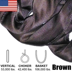 Brown Endless Round Slings